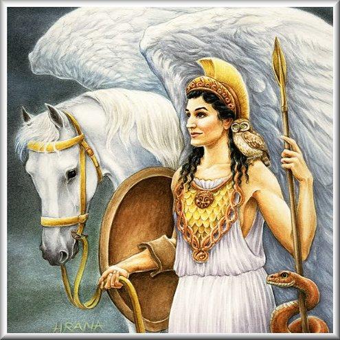 Mythmans Athena Goddess Of Wisdom