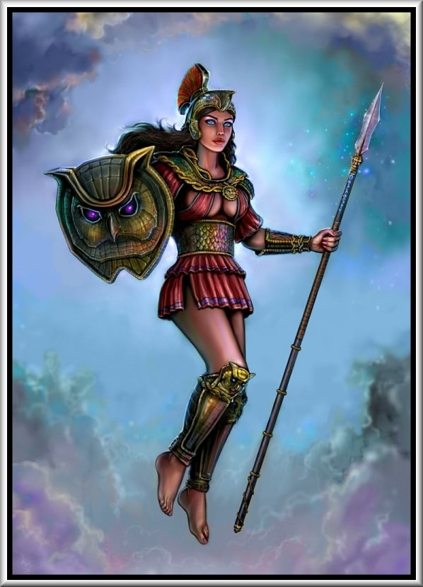 Mythmans Athena Goddess Of Wisdom